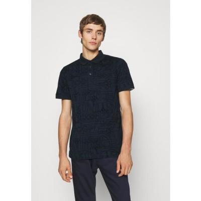 メンズ ファッション PASCAL - Polo shirt - dark blue