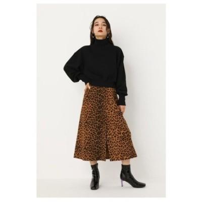 スカート LEOPARD SLITスカート