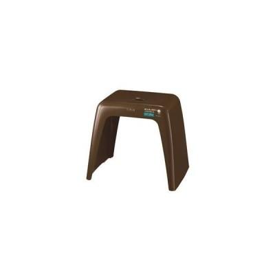 ds-1876363 バスチェア(風呂椅子/腰掛け) 座面高35.5cm ポリプロピレン製 ブラウン 『LIALO』 (ds1876363)