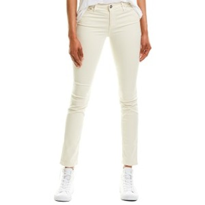 エージージーンズ レディース カジュアルパンツ ボトムス AG Jeans The Prima White Cigarette Leg ivory dust