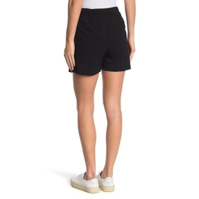 カットフロムザクロス レディース カジュアルパンツ ボトムス Linda Belted Wide Leg Shorts BLACK JM