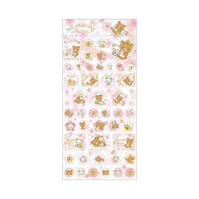 SE34102 桜リラックマ シール