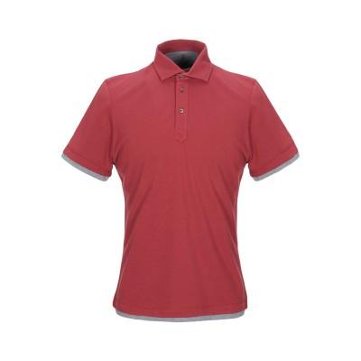 ブルネロ クチネリ BRUNELLO CUCINELLI ポロシャツ レンガ S 100% コットン ポロシャツ
