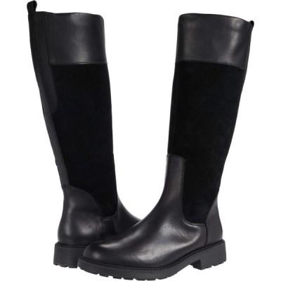 クラークス Clarks レディース シューズ・靴 Orinocco 2 Hi Black Warmlined Leather