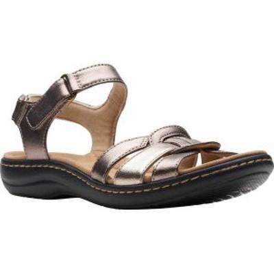 クラークス レディース サンダル シューズ Women's Clarks Laurieann Sela Slingback Sandal Metallic Combination Synthetic