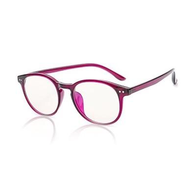 SIPHEW ボストン眼鏡 ブルーライトカット 度なし 伊達メガネ uv400 仕事用 長時間作業 パソコン用 ゲーム用