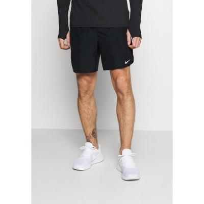 ナイキ カジュアルパンツ メンズ ボトムス CHALLENGER - Sports shorts - black/silver