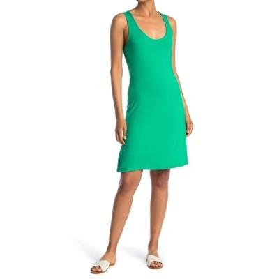 カルバンクライン レディース ワンピース トップス Scoop Neck Sleeveless Mini Dress PEPPERMINT