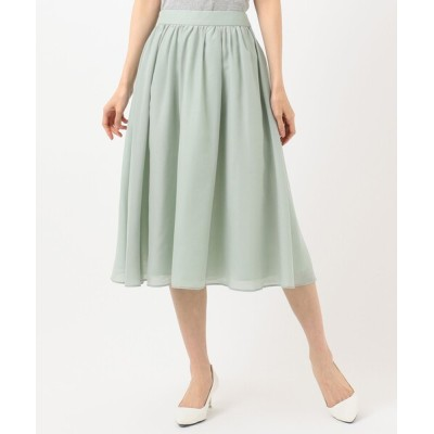 any SiS / 【洗える】タックギャザーエアリー スカート WOMEN スカート > スカート