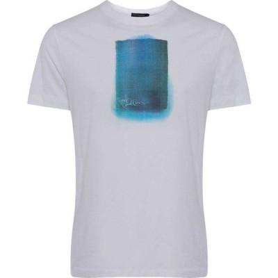 フレンチコネクション French Connection メンズ Tシャツ トップス Dusk Painting T-Shirt Linen White