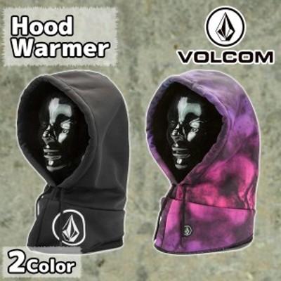 VOLCOM ボルコム ネックウォーマーフード フードウォーマー 保温 ドローコード調整 品番 J5551901 Hood Warmer 2018年 日本正規品