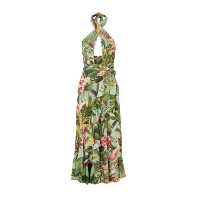 PATBO ミニワンピース&ドレス グリーン 4 レーヨン 96% / ポリウレタン 4% ミニワンピース&ドレス