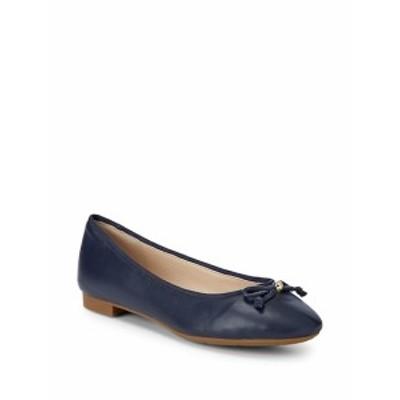 コールハーン レディース フラットシューズ Megan Leather Ballet Flats