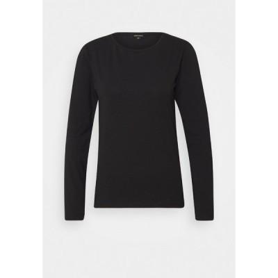 モア アンド モア カットソー レディース トップス Long sleeved top - black