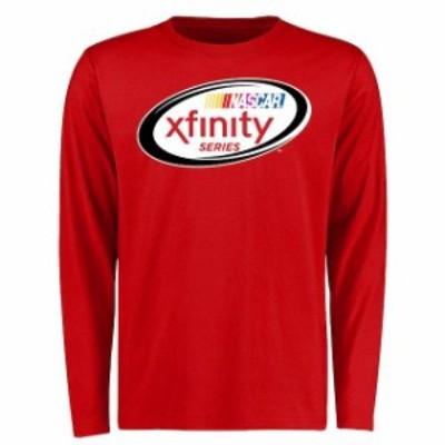 Fanatics Branded ファナティクス ブランド スポーツ用品  NASCAR Red Xfinity Logo Long Sleeve T-Shirt