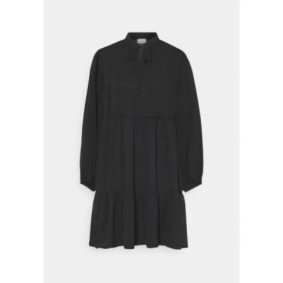 ヴィラ ワンピース レディース トップス VITULLAN DRESS - Day dress - black