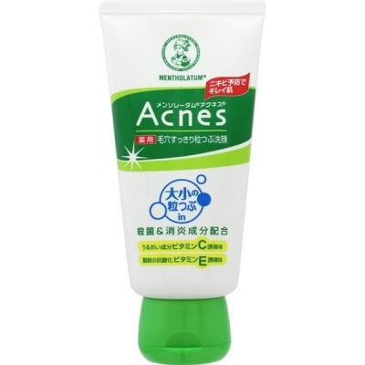 メンソレータム アクネス 薬用毛穴すっきり粒つぶ洗顔 130g