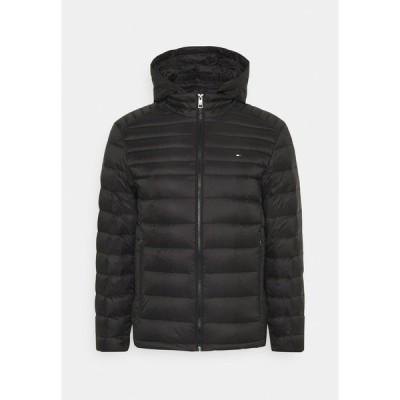トミー ヒルフィガー ジャケット&ブルゾン メンズ アウター PACKABLE HOODED JACKET - Down jacket - black