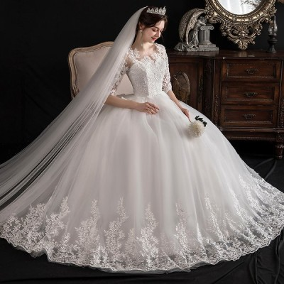 ロングドレス ウェディングドレス 安い イブニングドレス 演奏会 カラードレス 大きいサイズ 結婚式 お呼ばれ 大きい ピアノ ステージドレス プリンセス