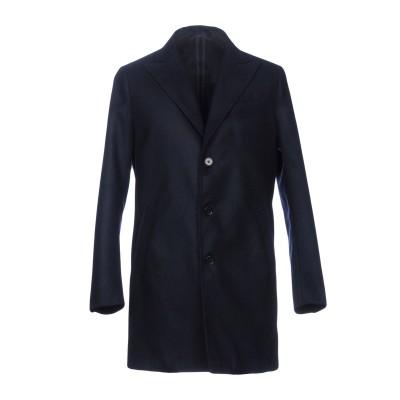 STILOSOPHY INDUSTRY コート ダークブルー XL ポリエステル 88% / レーヨン 10% / ポリウレタン 2% コート