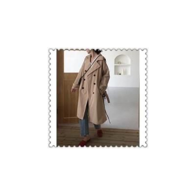 トレンチコートレディースコート春コートゆったりアウター20代30代40代ファッションカジュアルトップス