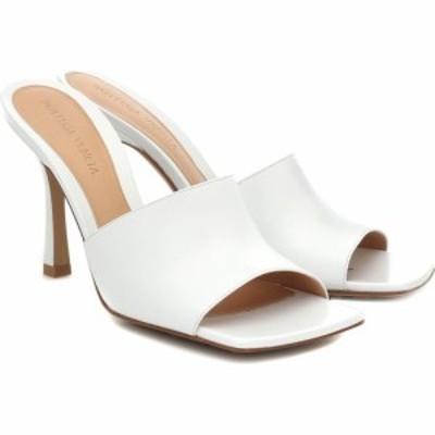 ボッテガ ヴェネタ Bottega Veneta レディース サンダル・ミュール シューズ・靴 Stretch leather sandals Optic White