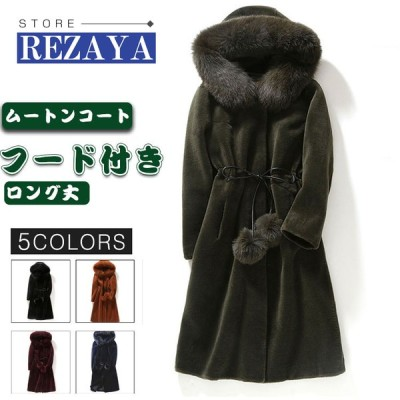秋冬 レディース ファーコート 毛皮コート 韓国風 レディースコート 本物のファー アウター ジャケット 暖かい OL 通勤 レディースアウター