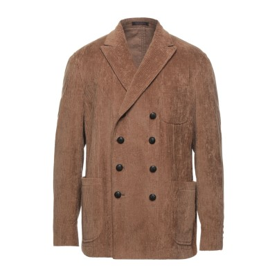 ザ ジジ THE GIGI テーラードジャケット キャメル 52 コットン 99% / ポリウレタン 1% テーラードジャケット
