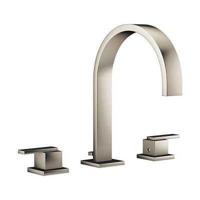 Jacuzzi MX81826 Jacuzzi MX818 Mincio Widespread Bathroom Faucet - Includes Pop-Up Drain Assembly 並行輸入品