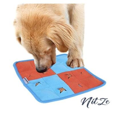 Petneces 犬 おもちゃ ペットおまちゃ 噛むおもちゃ 音の出るおもちゃ 訓練毛布 マット 犬 猫 ノーズワーク 鼻づ
