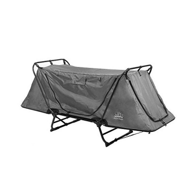 Kamp-Rite Original Tent Cot Folding Camping and Hiking Bed for 1 Person, Gray【海外平行輸入品】