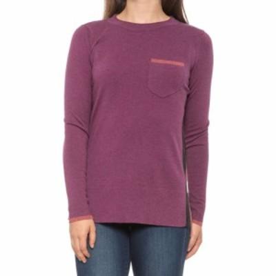 スマートウール SmartWool レディース ニット・セーター トップス shadow pine pocket sweater - merino wool blend Sangria Heather