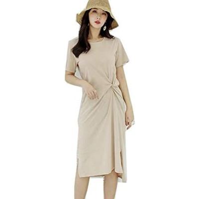 レディースファッション リネンを楽しむ、ロングシンプルワンピース(s2107010900)