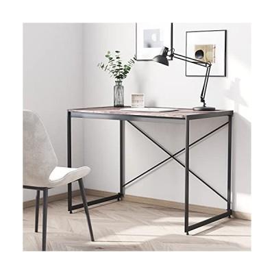 パソコンデスク ワークテーブル オフィスデスク 机 サイドテーブル PCデスク 組装簡単 おしゃれ 収納便利 省ス