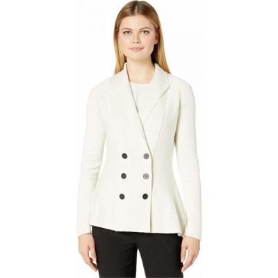 ニックゾー NIC+ZOE レディース スーツ・ジャケット アウター Frame Of Mind Jacket Milk White Heather