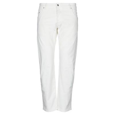LABELROUTE パンツ ホワイト 29 コットン 98% / ポリウレタン 2% パンツ