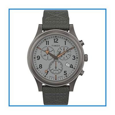 Timex メンズ Allied LT Chrono 42mm 腕時計 One Size グレー/シルバー