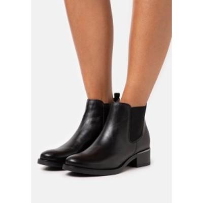 アンナフィールド レディース ブーツ&レインブーツ シューズ LEATHER - Classic ankle boots - black black