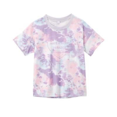 色・柄が選べる半袖ゆるシルエットプリントTシャツ(女の子 子供服・ジュニア服) (Tシャツ・カットソー)Kids' T-shirts