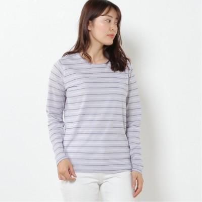 【吸汗速乾】ドライカノコ長袖Tシャツ(無地・ボーダー)(クローズトラック/CLOTHES TRUCK)