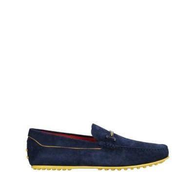 トッズ TOD'S for FERRARI メンズ ローファー シューズ・靴 loafers Dark blue