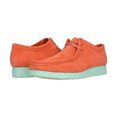 Clarks クラークス メンズ 男性用 シューズ 靴 オックスフォード 紳士靴 通勤靴 Wallabee - Coral Combi