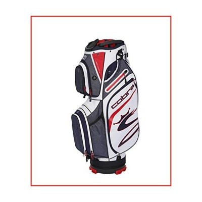 Cobra Golf 2020 Ultralight Cart Bag (Peacoat-Red-White) (909403)【並行輸入品】