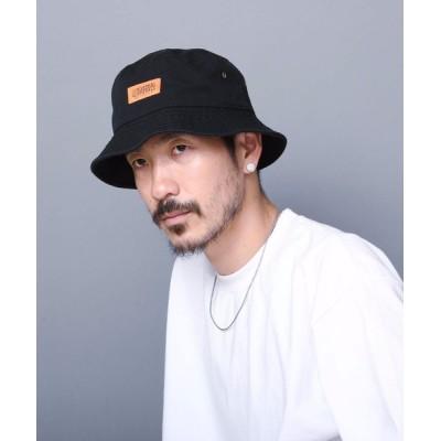 LB/S / 【UNIVERSALOVERALL/ユニバーサルオーバーオール】バケットハット ワンポイントブランドロゴ MEN 帽子 > ハット