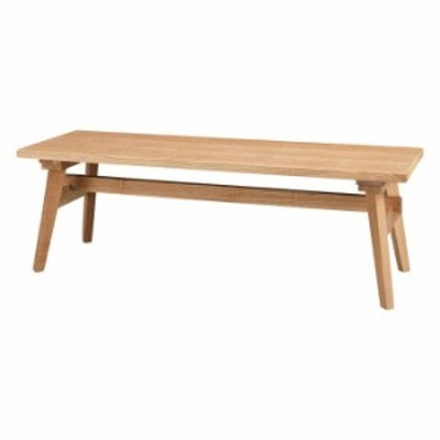 北海道・沖縄・離島配送不可 代引不可 ベンチ 幅120cm 木製 天然木 アッシュ 背もたれ無し 長椅子 ダイニング 食卓 椅子 チェア 組立式