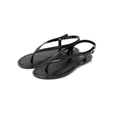 SHIPS for women/シップスウィメン igor:トングストラップサンダル ブラック 37
