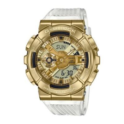 ジーショック メンズ 腕時計 アクセサリー Men's Analog-Digital Clear Resin Strap Watch 49mm