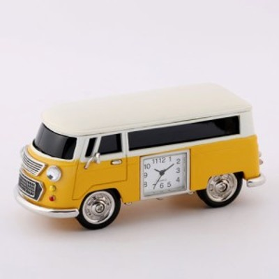 ミニチュアクロック Miniature Clock Collectionミニバン イエロー C3159-YL[C3159YL] 返品種別B