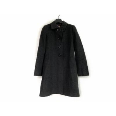ブラックレーベルポールスミス BLACK LABEL Paul Smith コート サイズ42 L レディース 黒 冬物【中古】20200702