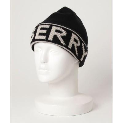 ECHELLE Liberte / BURBERRY Cashmere LOGO KNITCAP バーバリー カシミア ロゴ ニットキャップ MEN 帽子 > ニットキャップ/ビーニー